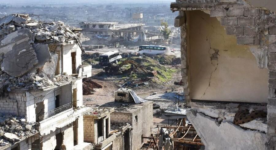 Foto fra Aleppo.