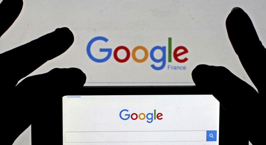 EU-Kommissionen undersøger i øjeblikket Google for at misbruge dets magt over styresystemet Android. Arkivfoto: Eric Gaillard/Reuters