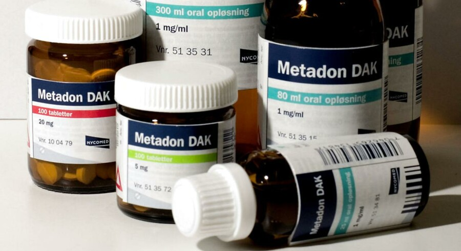 Arkivfoto. Flere dør af metadon end heroin i Danmark