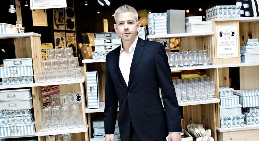 Adm. direktør Mikkel Grene forventer at kunne fastholde en vækst på 40 pct.