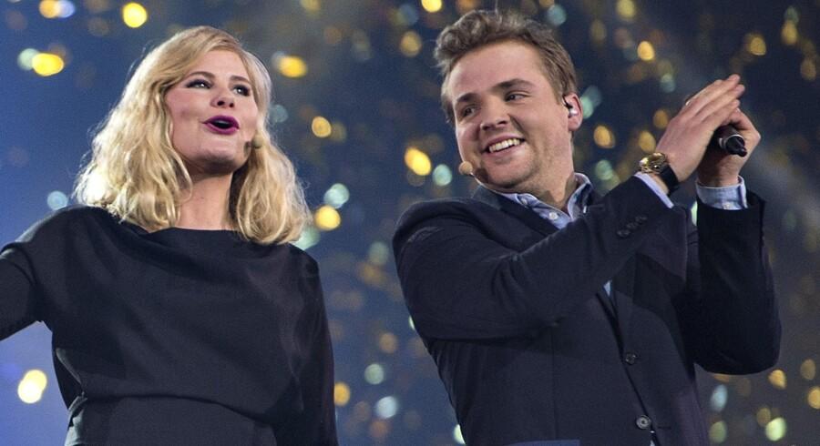 Joakim Ingversen og Sofie Linde skal giftes. Scanpix/Henning Bagger
