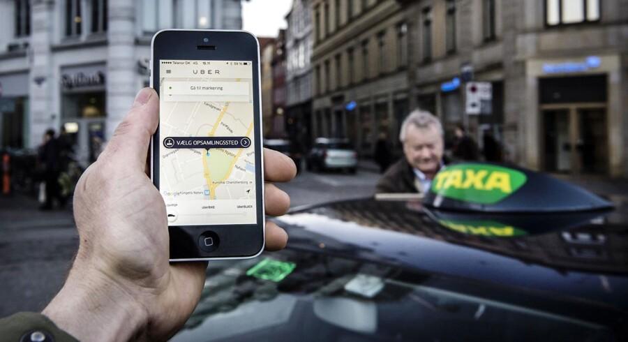 »Heller ikke taxabranchen kan sætte udviklingen i stå eller dæmme op for den almindelige danskers stigende behov for billig og let tilgængelig transport.«