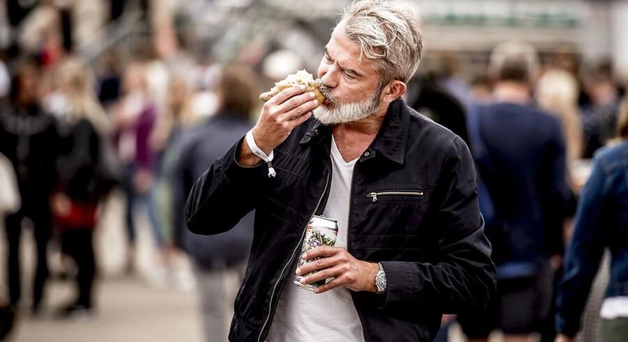 Berlingskes madanmelder Søren Frank anmelder mad på Haven festival fredag den 11. august 2017 på Refshaleøen i København.