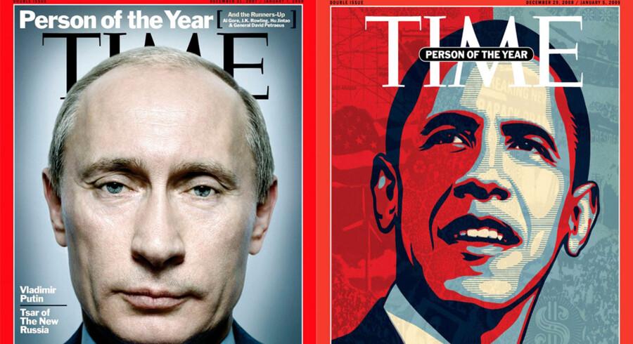 Onsdag blev den amerikanske præsident for anden gang kåret som »Person of the Year« af Time Magazine. Vi har samlet en række af Time Magazines kåringer og forsider fra de seneste år.