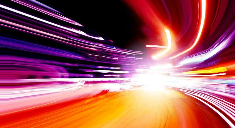 I 2. halvår af 2016 begynder TDCs kabel-TV-selskab, YouSee, at sælge internetforbindelser på en gigabit i sekundet efter en teknisk omlægning. Modelfoto: Iris/Scanpix
