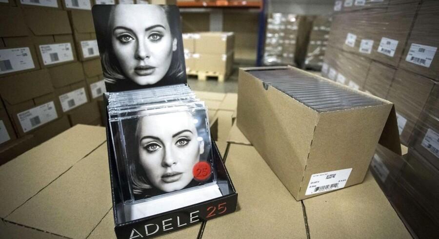 Adeles nye »25« - ikke på Spotify.