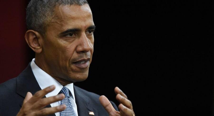 Barack Obama til Apec-topmødet.