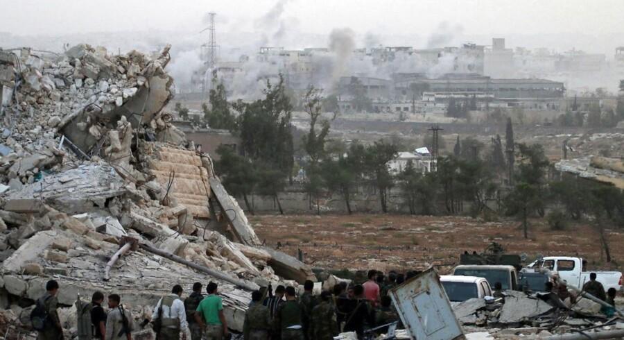 Arkivfoto fra Syrien.