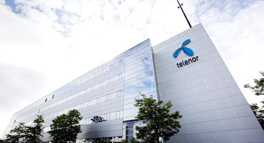 Danmark er ikke strategisk vigtig for Telenor, meddelte koncernens nye topchef onsdag efter et minus i det danske regnskab. Arkivfoto: Telenor