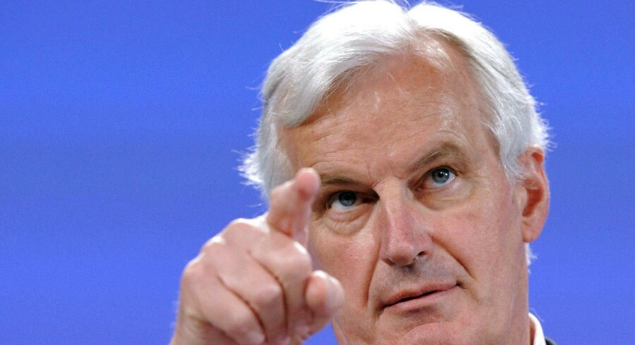 Briternes skal ikke straffes med Brexit. De skal bare betale, hvad de skylder boet, betoner EUs forhandler Michel Barnier, som fredag besøgte København.