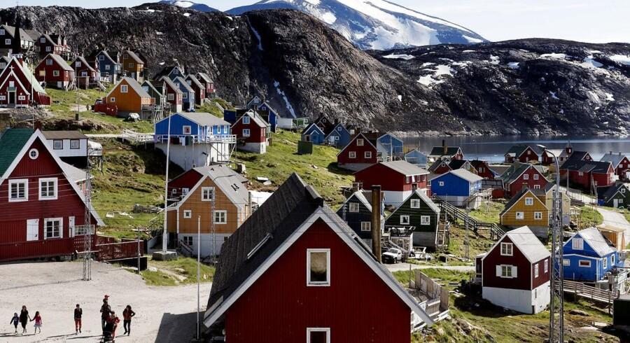 »Det store flertal af partier og vælgere i Grønland ønsker et selvstændigt Grønland. Debatten handler derfor ikke så meget om målet, men om tempoet på vejen dertil.« (Foto: Linda Kastrup/Scanpix 2017)