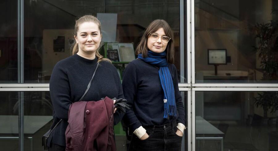 Amalie Donsbjerg (th) og Lærke Pihl Mortensen studerer begge forhistorisk arkæologi på Københavns Universitet. De er godt i gang med kandidatdelen, men de kan sagtens huske, hvor svært det kunne være med den faglige selvtillid, dengang de begyndte at læse på universitetet.