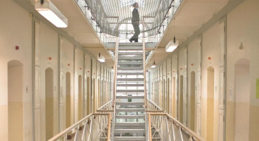 560 volds- og trusselsepisoder har der været mod personalet i Kriminalforsorgen i løbet af de første 11 måneder af 2016. I samme periode af 2015 var der 376 episoder. Der er tale om en stigning på 49 procent. ARKIVFOTO: Vestre Fængsel. (Foto: Dennis Lehmann/Scanpix 2015)