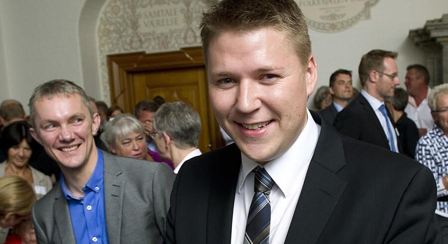 Ligestillingsordfører Rasmus Horn Langhoff (S) foreslår, at man fra politisk hold deler en del af barslen lige mellem fædre og mødre. Scanpix/Keld Navntoft/arkiv