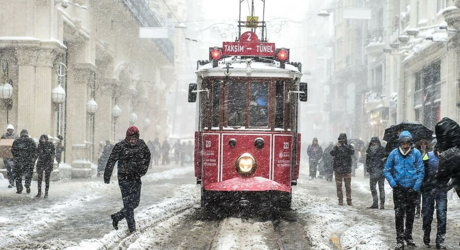 Istanbul i lørdags.