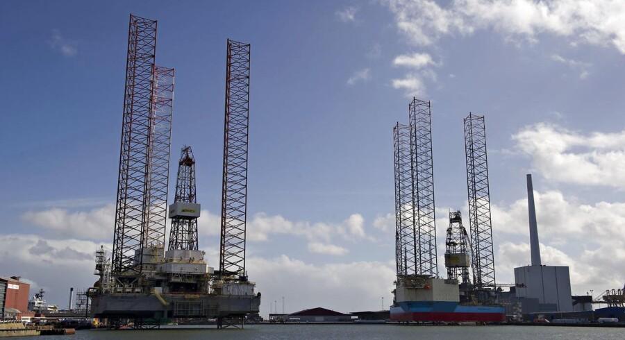 Arkivfoto. Maersk Drilling, borerigselskabet i A.P. Møller-Mærsk, har fået en løftet pegefinger af de norske myndigheder for mangel på sikkerhed på en af sine borerigge.