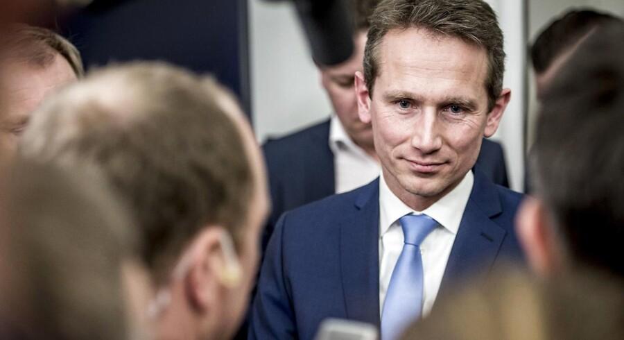 Finansminister Kristian Jensen (V)