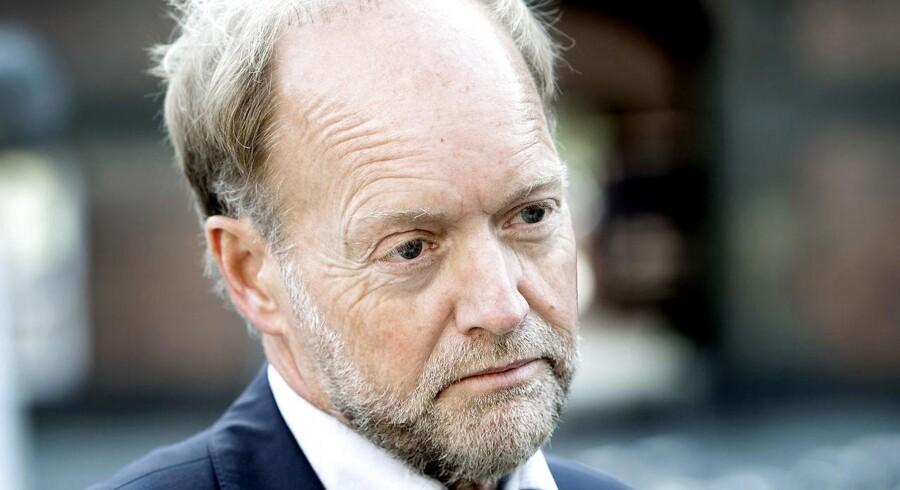 Formand for dommerforeningen, landsdommer Mikael Sjöberg afviser, at, dommerstanden er blødsøden i sager om udvisning af kriminelle udlændige.(Foto: Keld Navntoft/Scanpix 2014)
