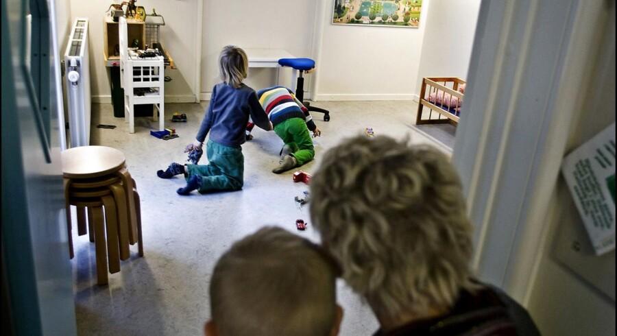 Arkivfoto af børnehave på Amager.