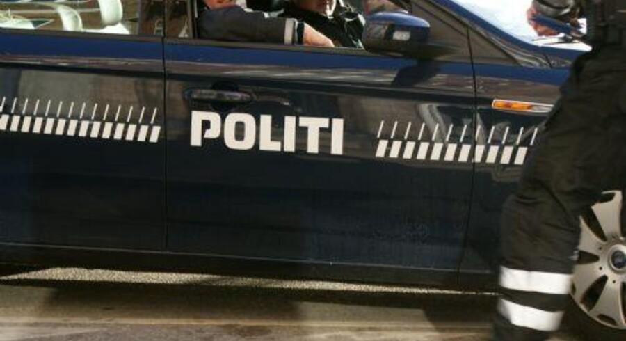 Uheldet fandt sted kort efter klokken 21.30, og politiet fik anmeldelsen klokken 21.41. Arkiv. Free/Colourbox