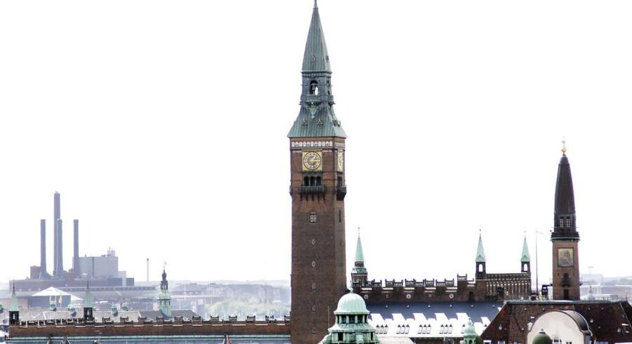 En række jyske bankdirektører går nu på rov i København efter nye kunder.