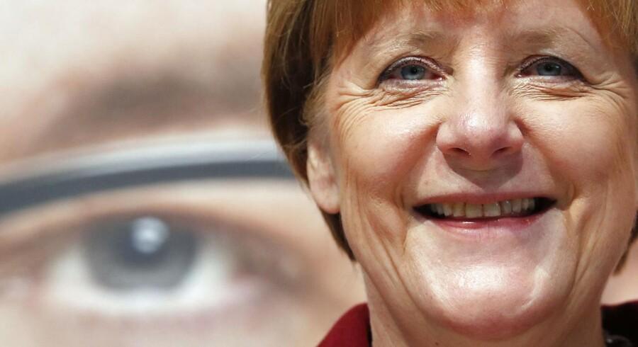 Angela Merkel. Arkivfoto.