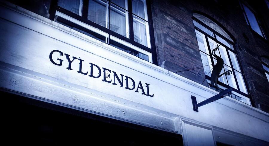 Gyldendals Forlag er Danmarks største. Deres logo er en trane. (Foto: Bax Lindhardt/Scanpix 2014)
