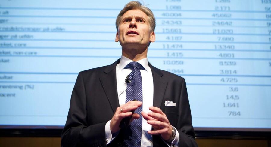 Topchef Thomas Borgen står i spidsen for den bank i Europa, der ser ud til at forkæle aktionærerne mest i 2017.