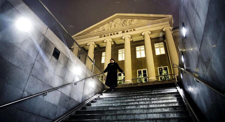 Arkivfoto af Danske Banks hovedsæde på Kgs Nytorv i København. (Foto: Thomas Lekfeldt/Scanpix 2013).