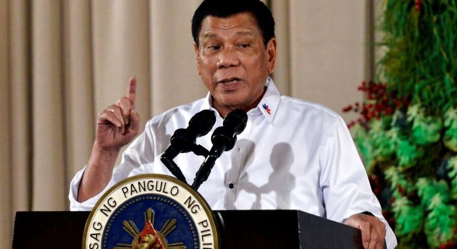 Drabene er de seneste i forbindelse med præsident Rodrigo Dutertes indsats for at bekæmpe narkokriminalitet.