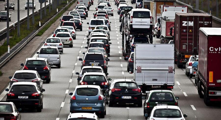 ARKIVFOTO af biltrafik. (Foto: Dennis Lehmann/Scanpix 2011)
