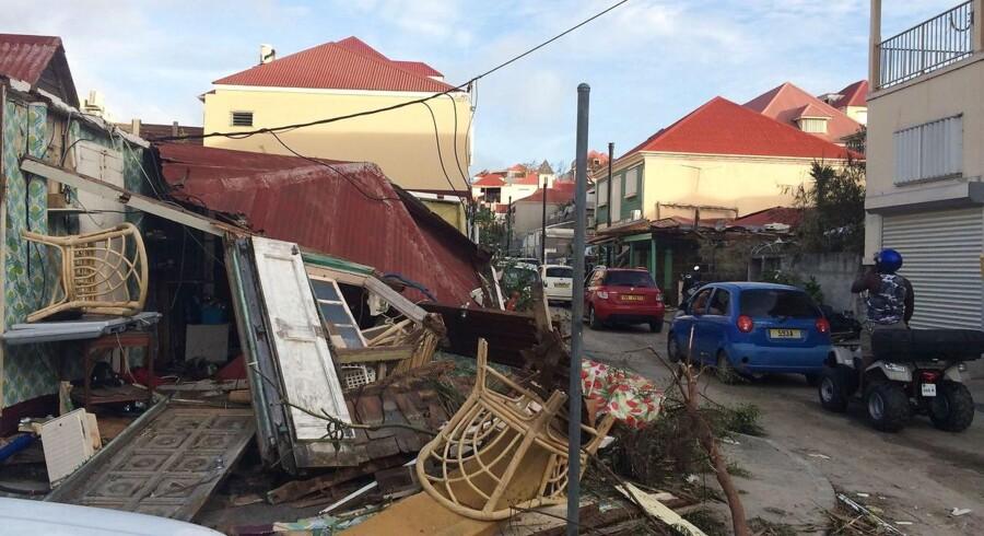 Mange øer er hårdt ramt efter orkanerne Irma og Maria.