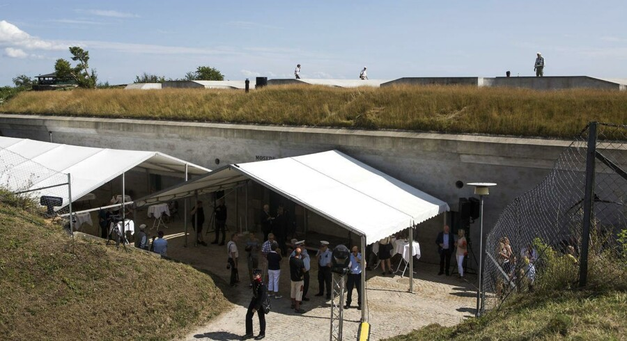Museet i Mosede Fort ved Greve har fået et ekstra millionbeløb på finansloven med venlig hilsen fra tidligere kulturminister Bertel Haarder (V).