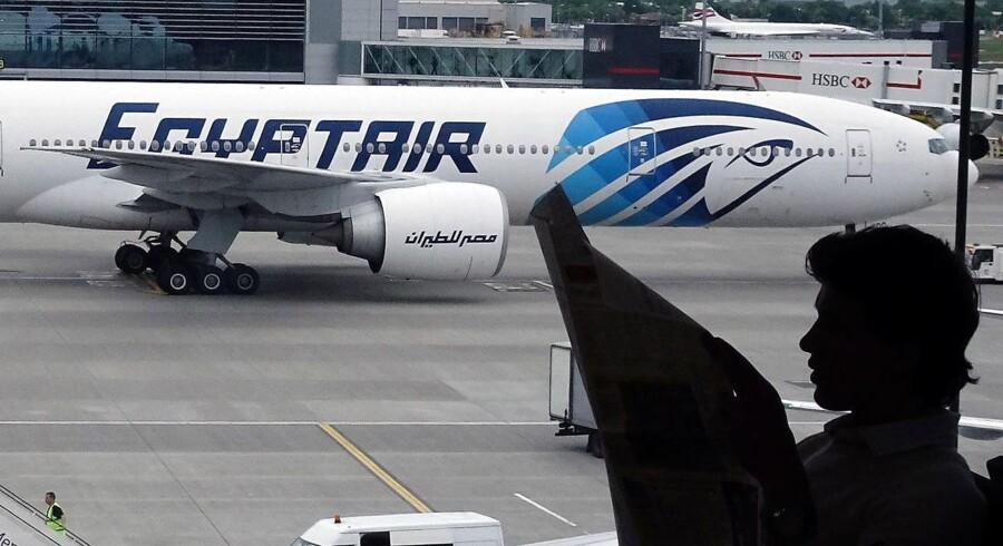 EgyptAir-flyet udsendte muligvis et signal om styreproblemer kort inden styrtet.