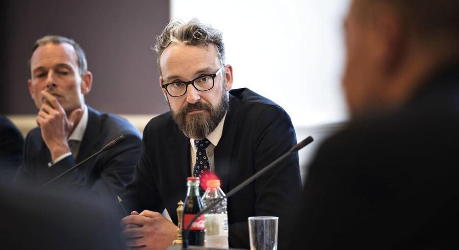 Transport-, bygnings- og boligminister Ole Birk Olesen vil have realkreditlån til alment boligbyggeri ændret til statslån.