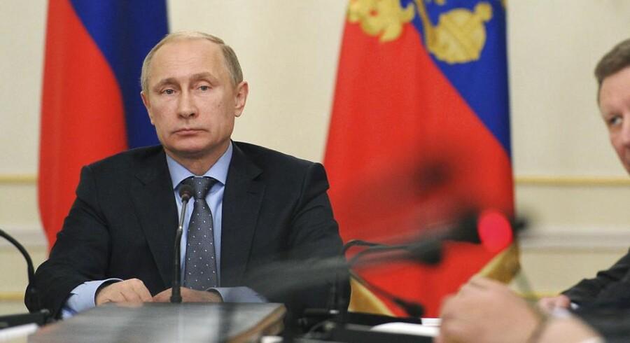 Ruslands præsident, Vladimir Putin.