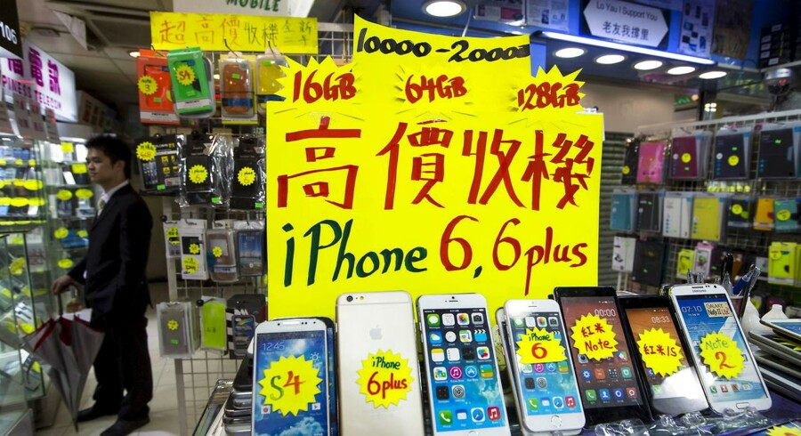 Salget af iPhone 6S og 6s Plus går ikke så godt som forventet, og derfor vil Apple nu sende 30 procent færre modeller på gaden end forventet.