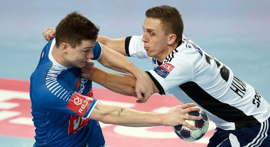Wisla Plock kunne ikke få point mod Paris Saint-Germain, så BSV kan fortsat håbe på avancement i Champions League. Scanpix/Marcin Bednarski