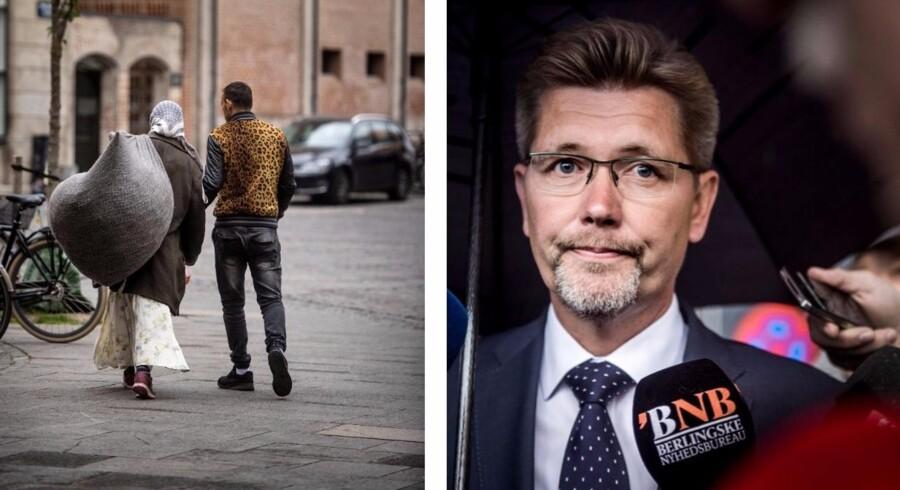 Problemet med romaer, som overnatter på må og få i Indre By, skal løses af regeringen, mener Frank Jensen. Foto: Thomas Lekfeldt/Thomas Lekfeldt