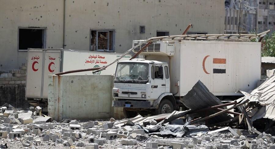 Irakiske styrker stormer den sidste IS-lomme i Mosul. / AFP PHOTO / AHMAD AL-RUBAYE