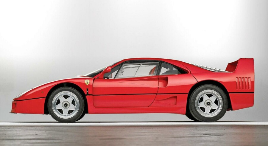 I 1987 hævede Ferrari barren for superbilpræstationer med F40.