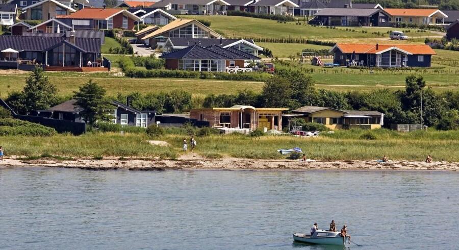 Arkivfoto. Sommerhuse ved Karrebæksminde.