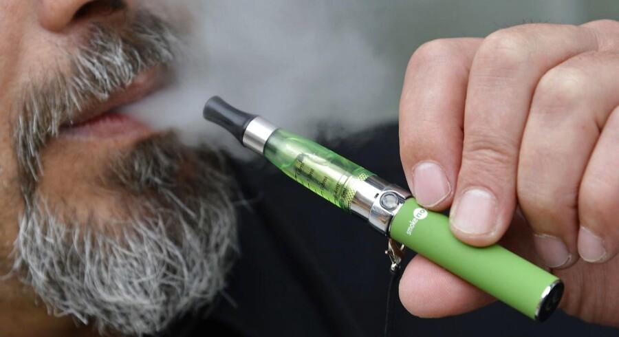 ARKIVFOTO 2013 af E-cigaret.