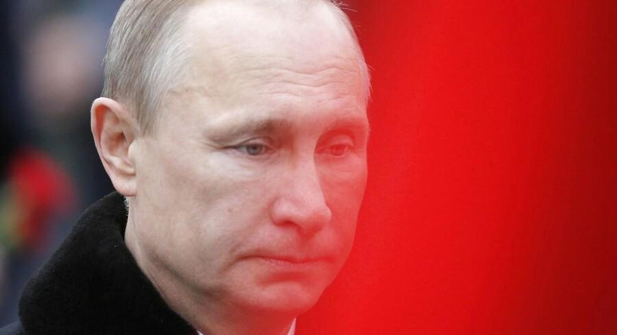 En krig med Ukraine vil være »apokalyptisk«, men vil sandsynligvis aldrig komme til at ske, siger den russiske præsident, Vladimir Putin