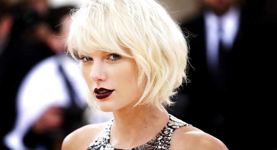 Taylor Swift er den musiker, der tjener mest.