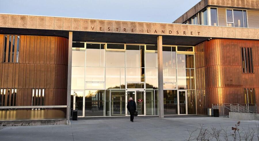 Arkivfoto af Vestre Landsret i Viborg.