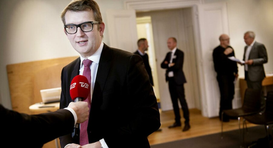 Arkivfoto: Beskæftigelsesminister Troels Lund Poulsen (V) kalder de mange koks for uacceptable og stærkt bekymrende.