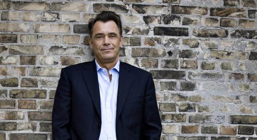»3«s administrerende direktør, Morten Christiansen, har sat sig som mål at få 100.000 flere mobilkunder i butikken i løbet af 2015. Han er lige nu langt fra målet, selv om »3« fortsat stjæler kunder fra konkurrenterne. Arkivfoto: »3«
