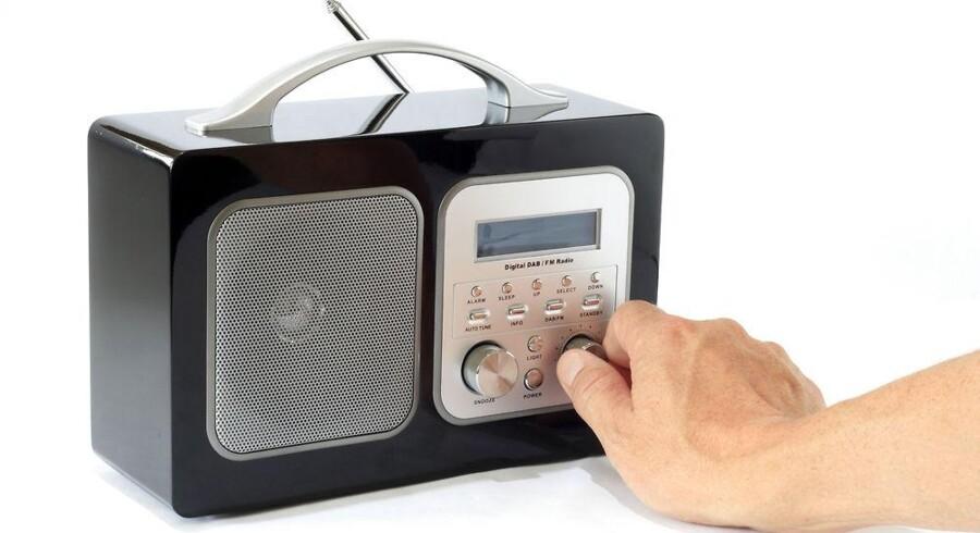 DAB-radio er digital radio i stedet for de analoge signaler, som nu sendes på FM-båndet. DAB-radioer kan også modtage FM-signaler men ikke omvendt. Foto: Iris/Scanpix