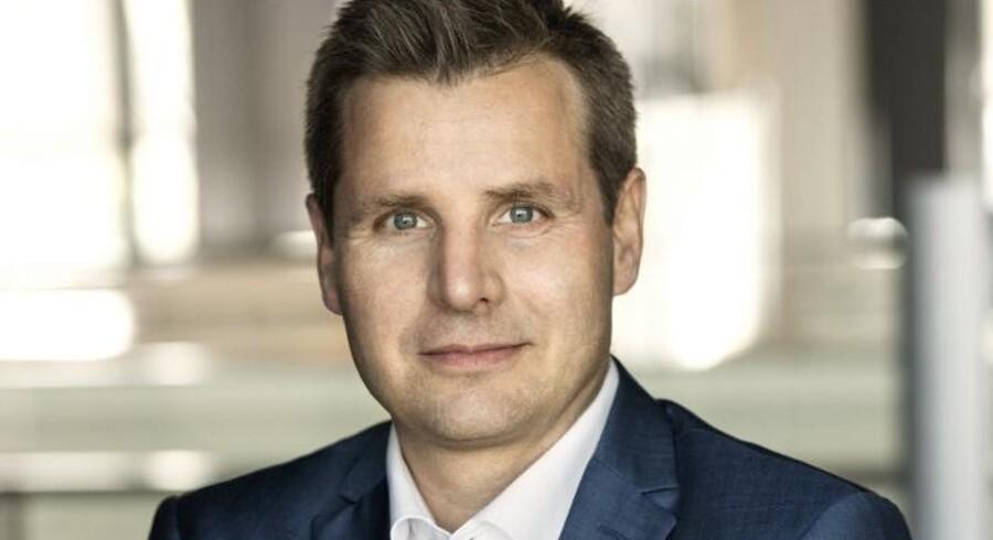 Telias nye topchef i Danmark, Morten Bentzen, skal overbevise danskerne om, at de gerne vil betale lidt mere for deres abonnementer, hvis de til gengæld får mere i pakkerne. Foto: Telia